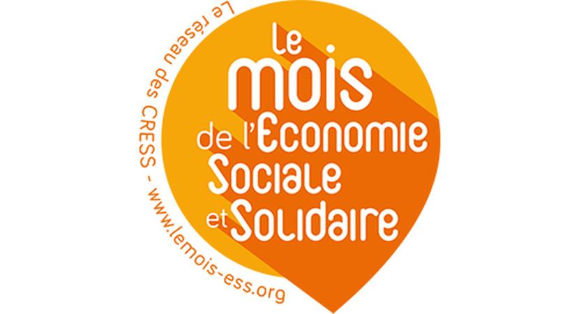 Logo du mois de l'économie sociale et solidaire - Le réseau des CRESS